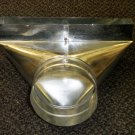 """AMS Stainless Steel 2"""" X 12"""" Register Boot"""