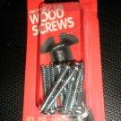 "Bear Kat Products Zinc Plated Wood Screws #8 X 1 1/2"" Qty. 12 #94011-2"