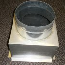 "Stainless Steel 8"" To 10"" Stove Pipe Adapter"