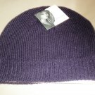 Jaclyn Smith OSFM Knit Cap - Plum #808518019497