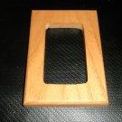 "Wood Single Rocker / GFI Switch Plate Size: 3 5/8"" W X 5 1/8"" L X 5/8"" Thick"