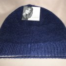 Jaclyn Smith OSFM Knit Cap - Navy #808518019480