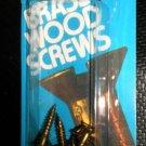 """Bear Kat Products Brass Wood Screws #8 X 1"""" Qty. 8 #94244-2"""