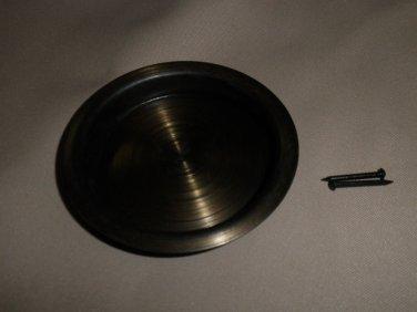Antique Brass Finish Flush Door Pull Set 2