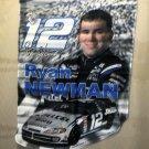 """HiREV Nascar 28"""" X 40"""" Ryan Newman #12 Die Cut Flag #55624"""