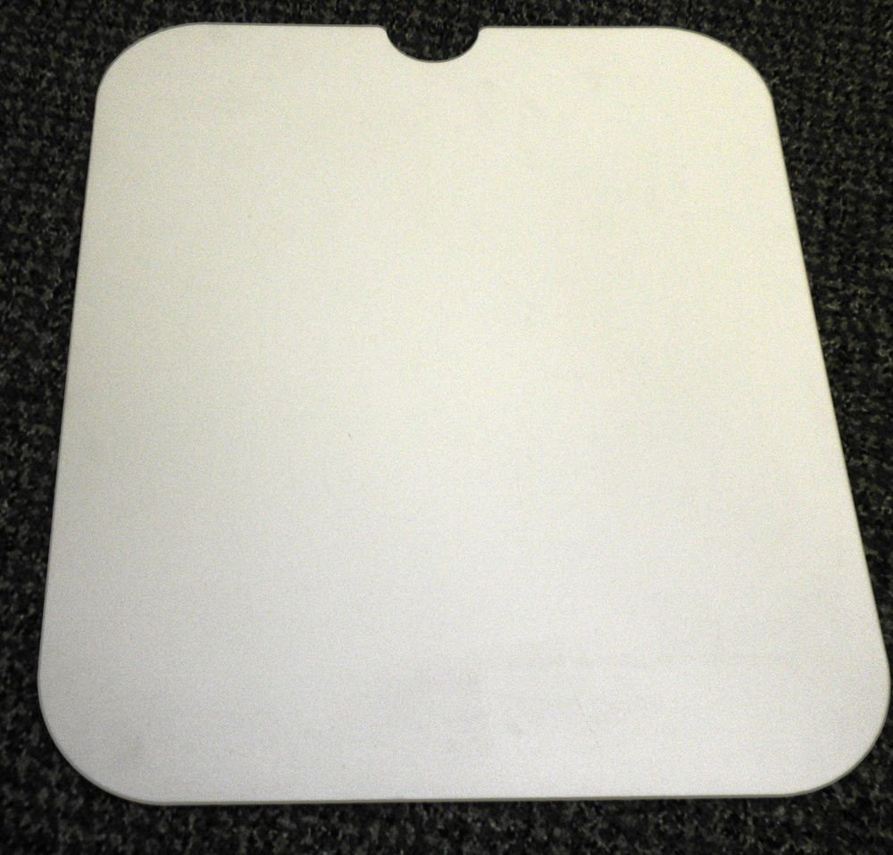 "RV Almond Sink Cover Size: 14 7/8"" X 16 7/16"" X 1/4"""
