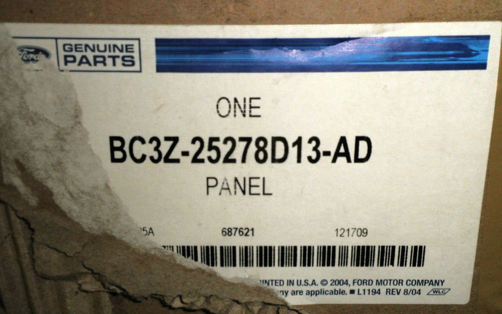 Ford Genuine Parts - Left / Driver Side Upper Trim Panel #BC3Z-25278D13-AD