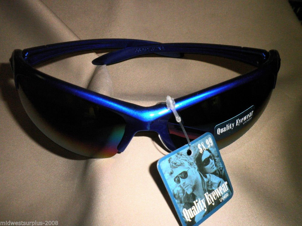Quality Eyewear UV400 Sunglasses SSG52 Blue