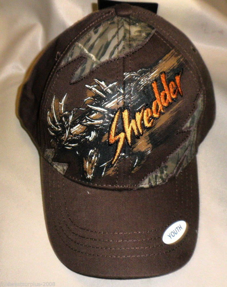 "Buckwear Youth ""Shredder"" Baseball Cap OSFM"