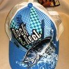 "Buckwear Youth ""Rock & Reel"" Baseball Cap OSFM"