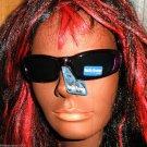 Quality Eyewear UV400 Sunglasses SG41-Color Black / Purple