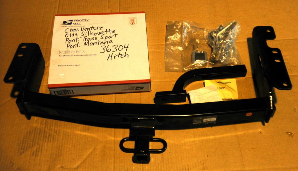 Chevy Venture, Oldsmobile Silhouette, Pontiac Transport or Montana 36304 Hitch