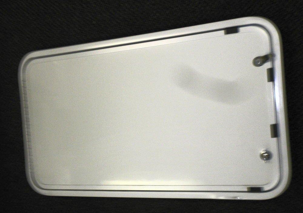 """Elixir RV Radius Lockable Cargo Door With 1  Key Size: 35 1/4"""" X 19 3/8"""" X 2"""" DF"""