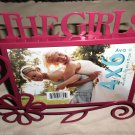 "Harbortown Industries Ava ""The Girls"" / Flower Metal 4"" X 6"" Photo Frame #AVS109"