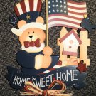 Avon Gift Collection Home Sweet Home Bear Hanging #35796-1