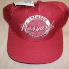 "The Game Mens "" Harvard University Crimson "" Burgundy Baseball Cap OSFM"
