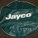 Jayco Teal Vinyl Tire Cover No Bird Size: O / 5.30 X12 or 4.50 X 12 Tire #016680