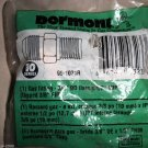 "Dormont 90-1031R 3/8"" OD Flare X 1/2"" M.I.P Gas Fitting #662447032336"