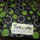 "Vitronic Navy ""Integrity Home Care"" Push Button Auto Open Umbrella #F703"
