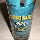 Notre Dame Fightin' Irish Tall 1 Side Logo Clear Glass Tumbler