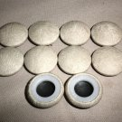 Troyer Products Tucson Beige Button Covers Pack 10 #A3099-1