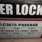 Tell Mfg. Lever Lockset LC3675 Passage RL100039 CTL Lever Adjustable