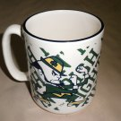 Linyl Glassware University Of Notre Dame Fightin Irish Multi Colored Coffee Mug