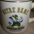 Linyl Glassware University Of Notre Dame 1988 National Champion Beige Coffee Mug
