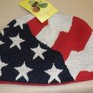 "Amazing Danna ""Patriotic Flag"" Skully Knit Cap OSFM #642312020002"