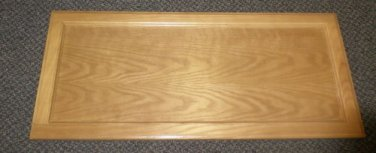 "Solid Wood Panel Cabinet Door Size: 13 7/8"" X 31 5/8"" X 3/4"""