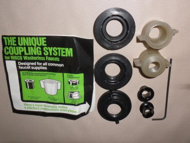 NIBCO Unique Coupling System For Washerless Faucets