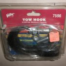 Valley Industries Black 10,000 Lb. Max Capacity Tow Hook #7596 UPC:084689046146