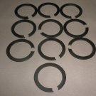 """1 1/8"""" Steel Snap Retaining Ring Set 10 #7700720886"""