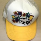 "James River Corp. "" Look Who's 50 "" White / Yellow Baseball Cap"
