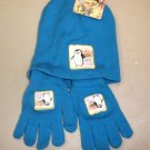 "Madagascar 2 Escape To Africa Hat/Glove Combo ""Black,White And Out Of Sight"""