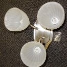 Optronics 12V B.N Triple Wall Light Fixture W/Gustafuson Globe #DC12BNC09/G9118