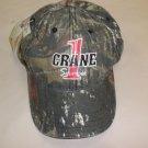 Cap America Camouflage Mossy Oak Crane 1 Services Baseball Cap OSFM #57842519