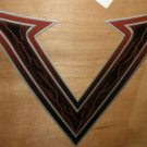 """RV Decal """"Voltage V Style #2"""" Multi Colored Size: 25"""" X 23"""" #201512"""