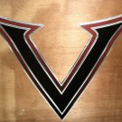 "RV Decal ""Voltage V Style #1"" Multi Colored Size: 25 7/8"" X 23 7/8"" #201511"