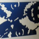 "RV Decal ""Dutchman Rear Face"" Blue / White Size: 10 3/4"" X 25 1/2"" #DUT005705"