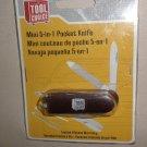 Tool Choice Mini 5 In 1 Pocket Knife #17520