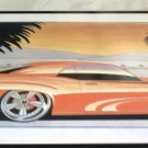 "Cool Tin Art Metal Car Sign Size: 16 1/2"" Wide X 11"" Long #CTAMC13"