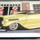 """Cool Tin Art Metal Car Sign Size: 16 1/2"""" Wide X 11"""" Long #CTAMC9"""