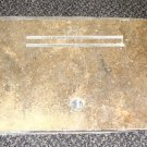 """RV Lt Brown Corian Range Cover (Back Side) Size: 23"""" Wide X 10"""" Long X 3/8"""" Thi"""