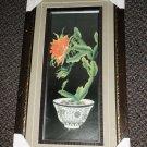 "Christmas Cactus 3D Framed Artwork Size: 11 1/2"" Wide X 21"" Long"