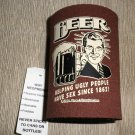 Kolder Neoprene Can Coozie - Brown - Beer: Helping Ugly People Have Sex Since 18