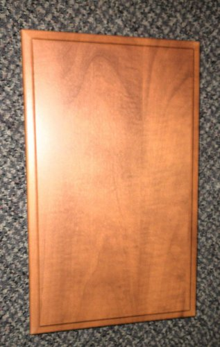 """MDF RV Cabinet Door Size: 17 1/4"""" Wide X 23 1/4"""" Long X 1/2"""" Thick"""