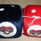 Fremont Die MLB Washington Nationals Team Fuzzy Dice #023245680202