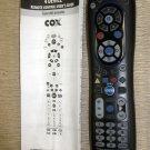 COX Custom 4 Device Universal Remote Control #URC-8820-CISCO