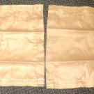 "RV Curtains 1 Pair Color: Light Brown  Size: 18 1/2"" Wide X 16 1/4"" Long #494833"